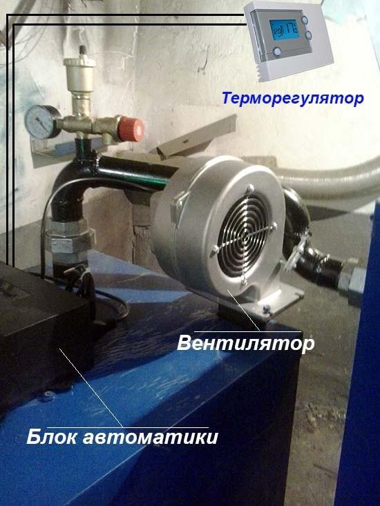 Подключение термостата к ТТ-котлу