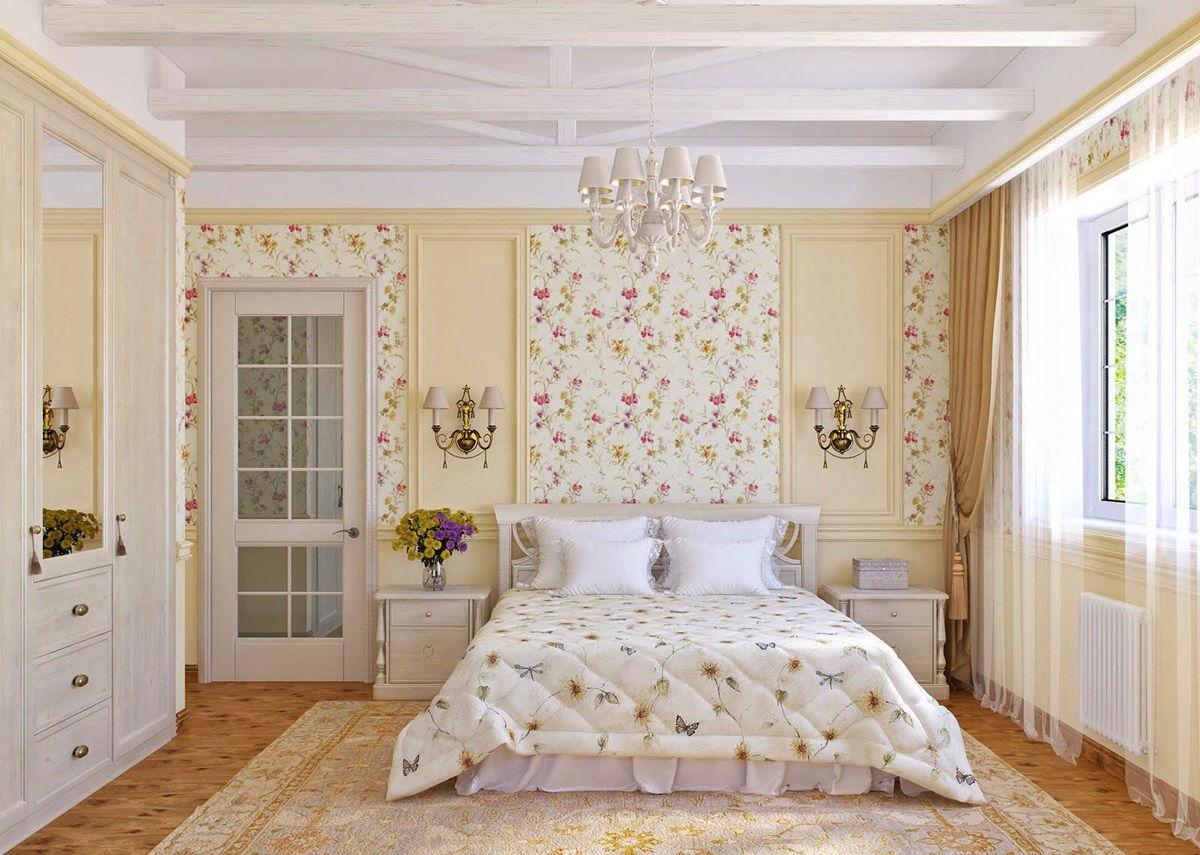 Спальня в стиле прованс - фото (12)