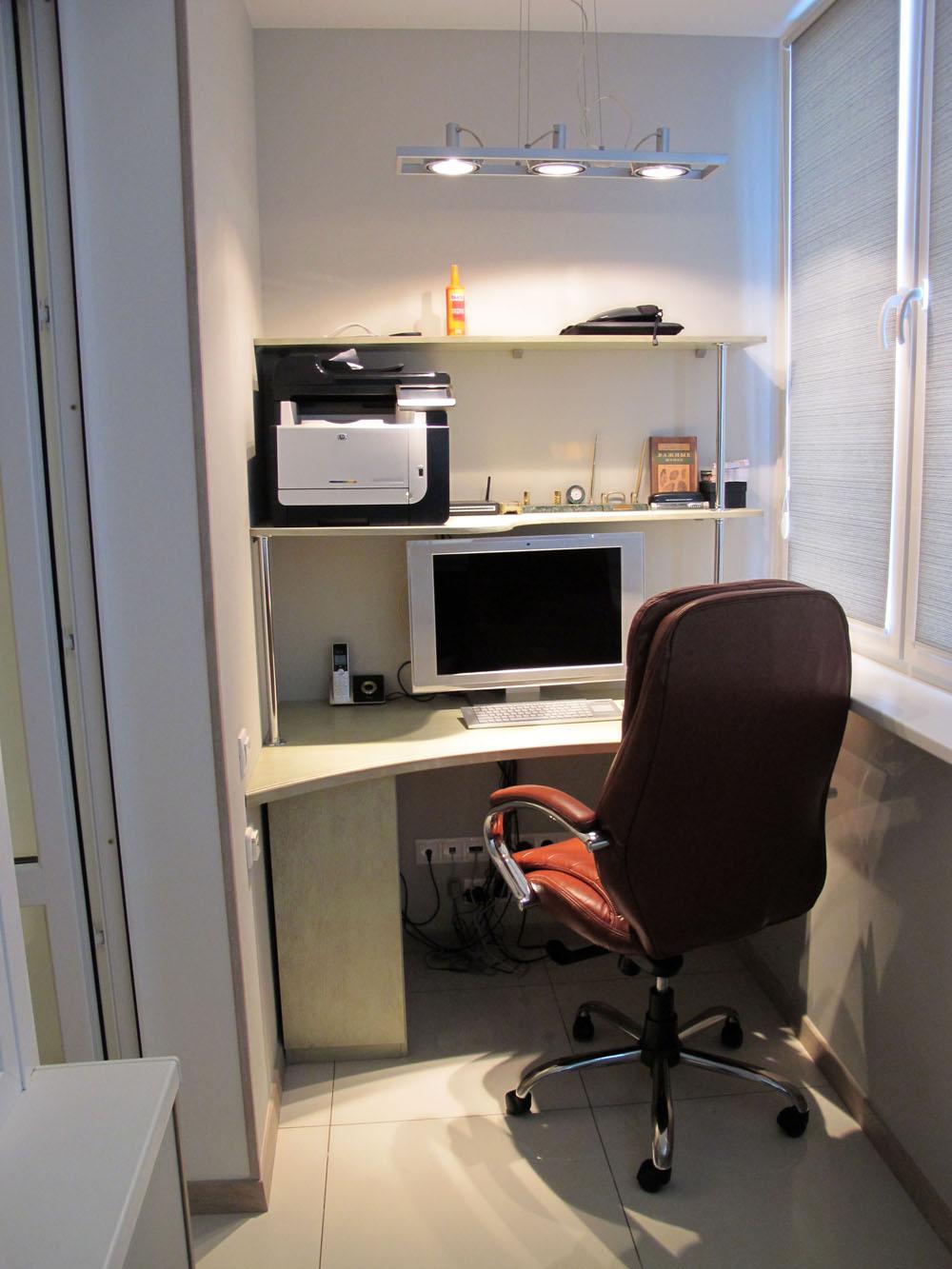 Личный кабинет на балконе за неделю! (+40 фото)