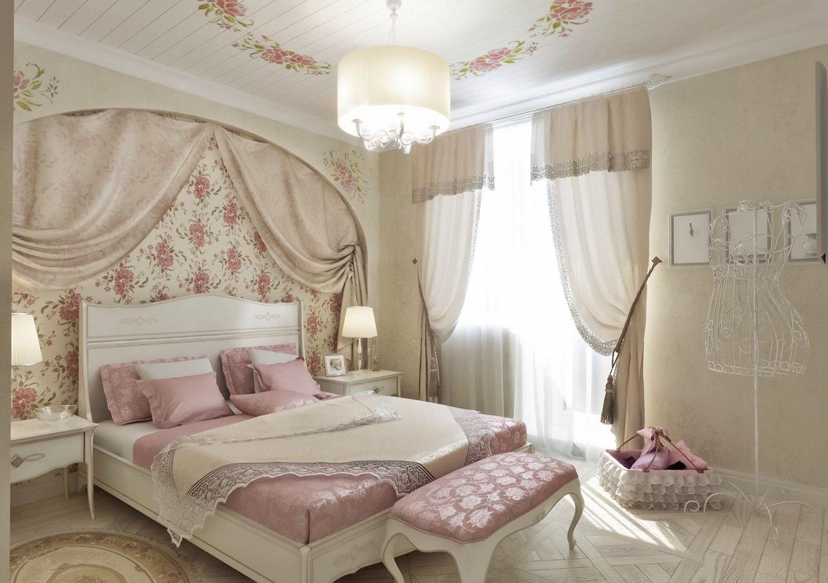 Спальня в стиле прованс - фото (30)