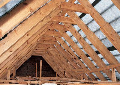 Крыша изнутри