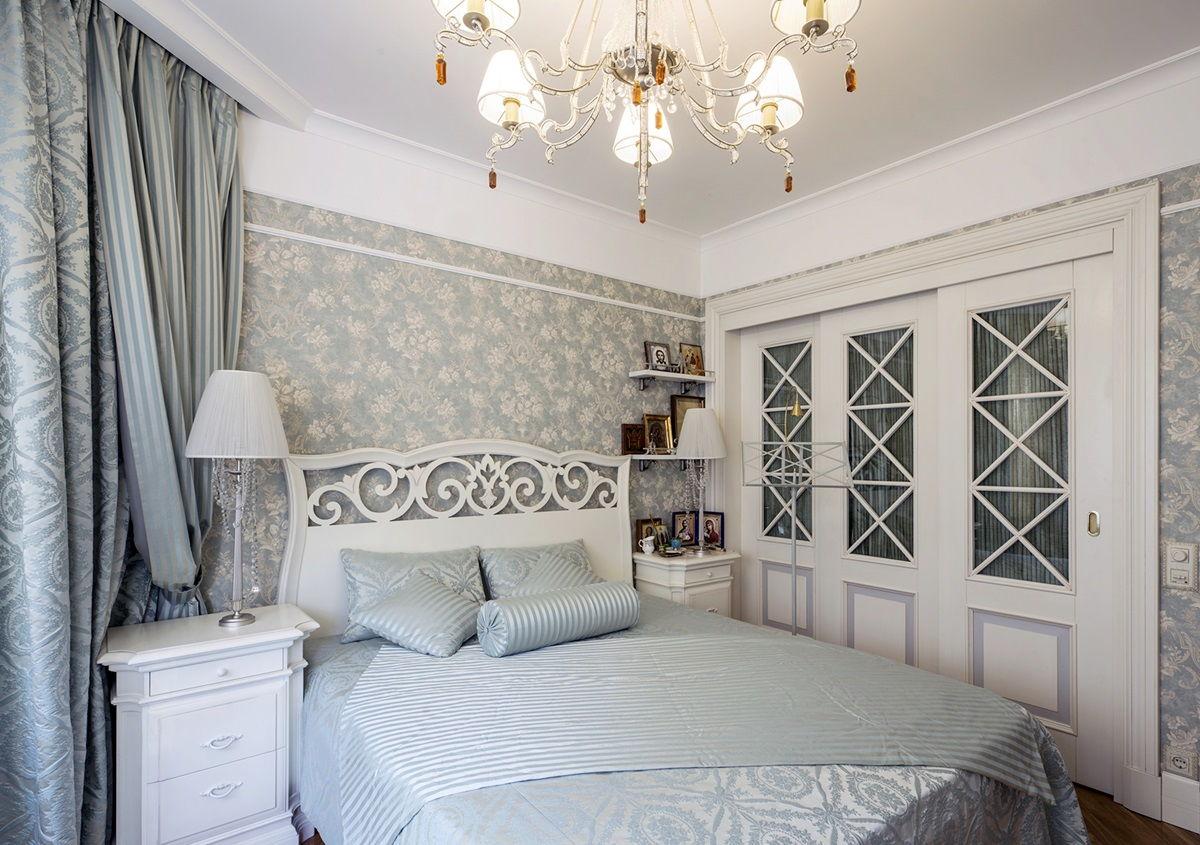 Спальня в стиле прованс - фото