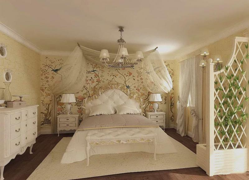 Мебель для спальни в прованском стиле 2