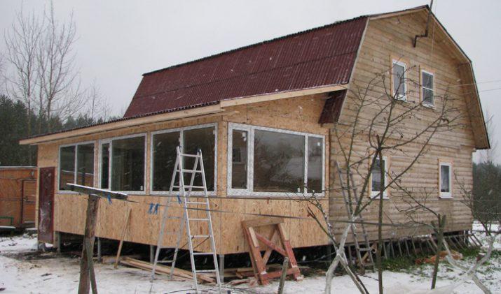 Строение увеличит площадь всего помещения.