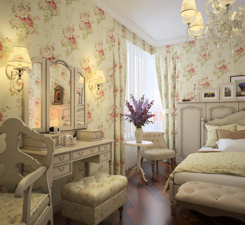 Спальня в стиле Прованс — 155 фото — изящество и уют в простоте
