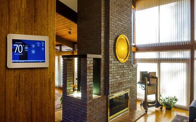 Расположение термодатчика в доме