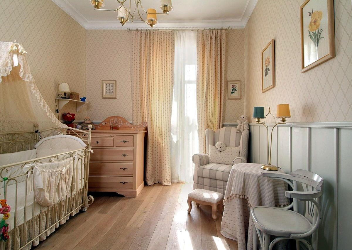 Детская спальня в стиле прованс - фото (3)