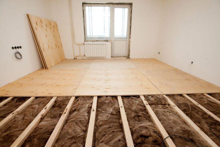 Изоляция деревянного пола