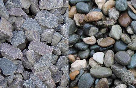 Щебень и гравий - основные отличия