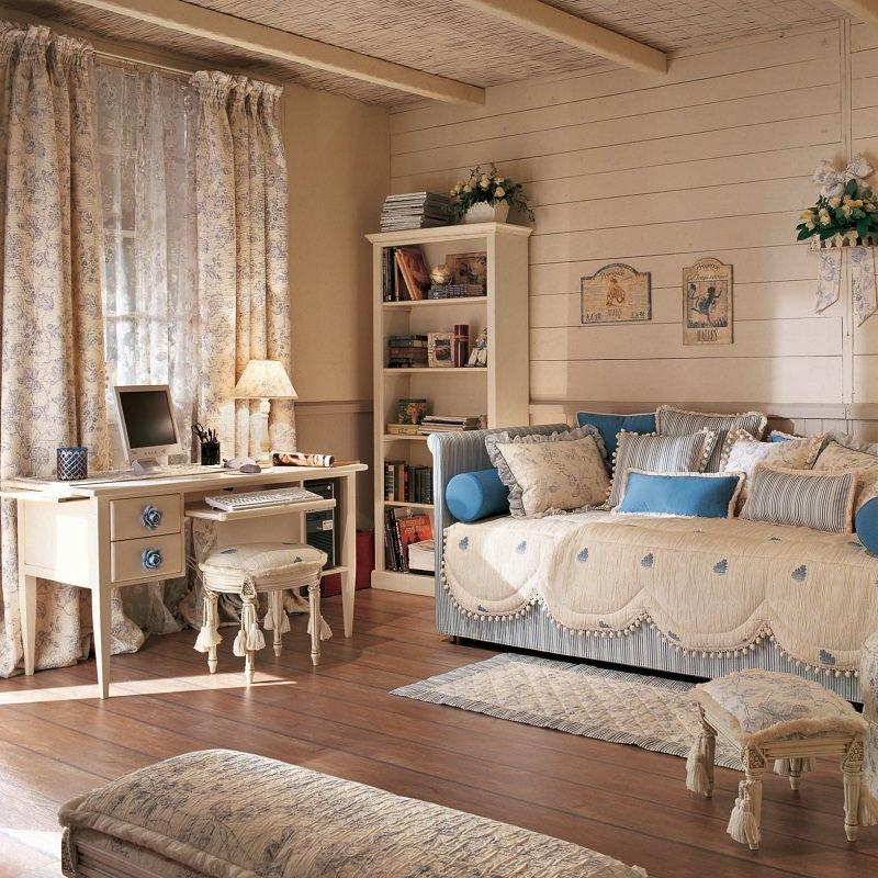 Детская спальня в стиле прованс - фото (9)