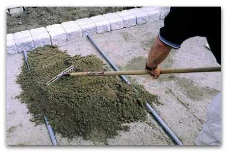Маяки для укладки тротуарной плитки