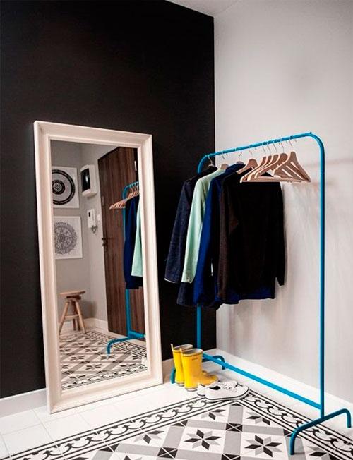 Интерьер в стиле лофт в маленькой квартире