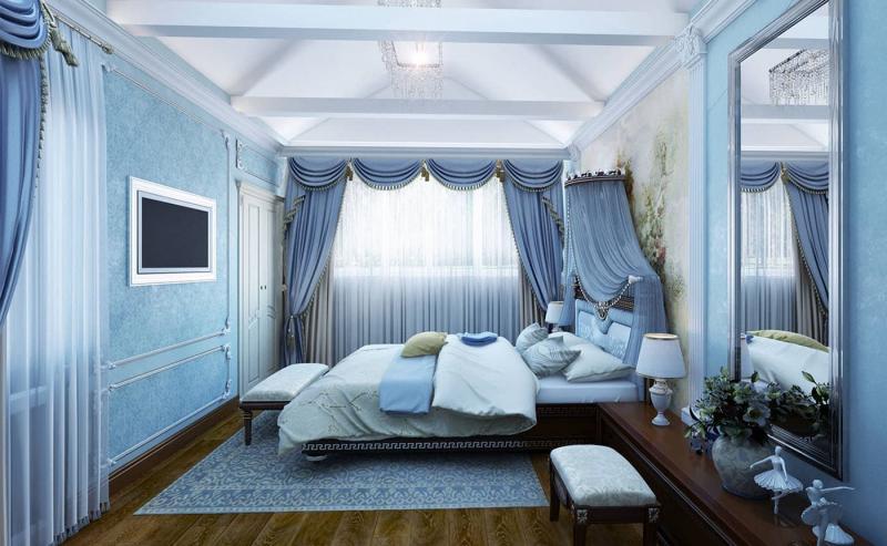 Аксессуары для спальни в стиле прованс 1