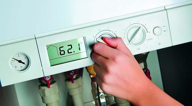 Настройка нагрева теплоносителя