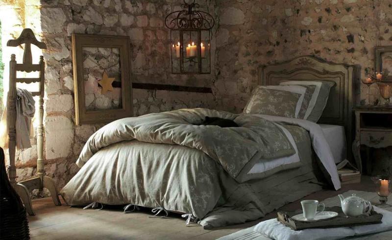 Материалы для спальни в стиле прованс 2