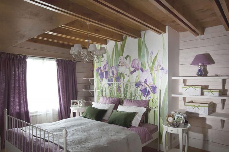 Современные идеи для спальни в стиле прованс 8