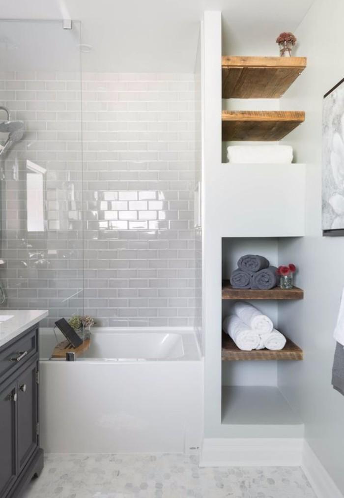 Стена под белый кирпич в интерьере, фото 11