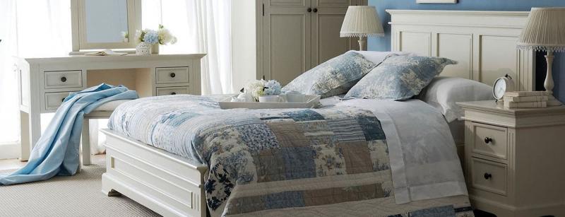 Современные идеи для спальни в стиле прованс 2