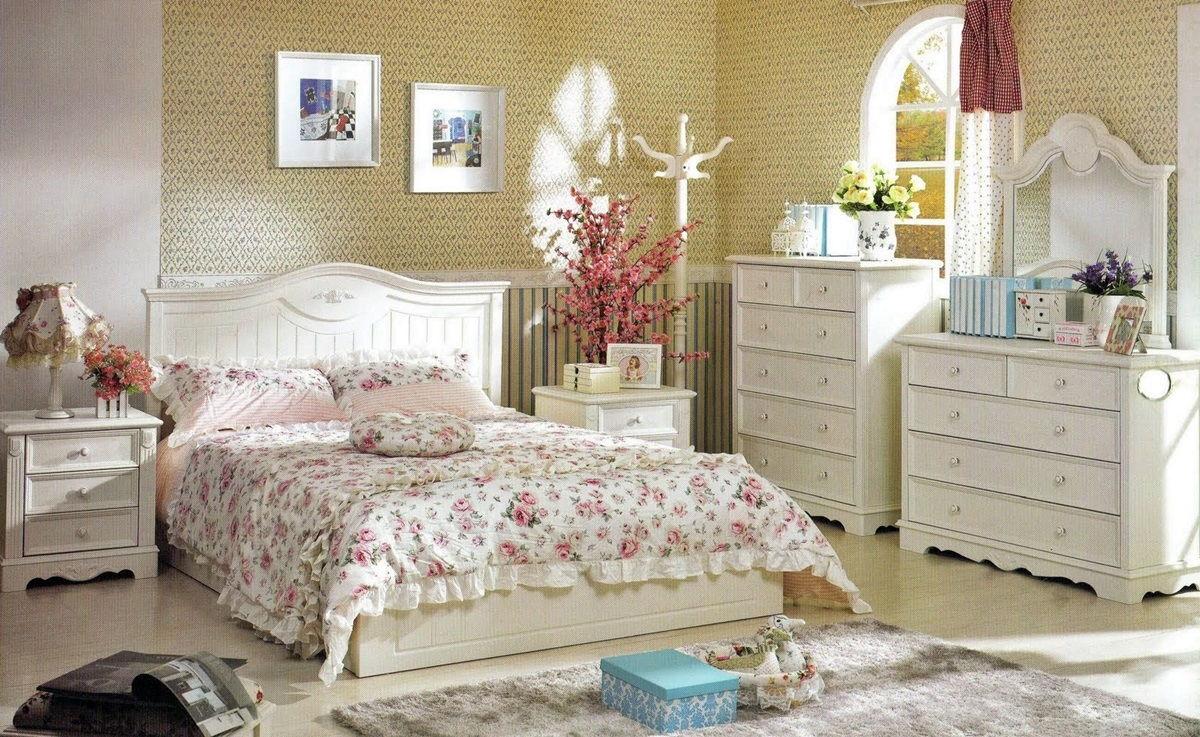 Спальня в стиле прованс - фото (8)