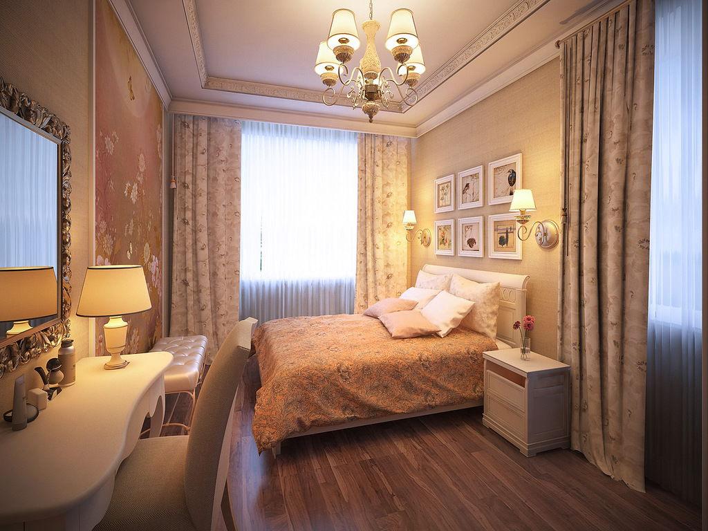 Спальня в стиле прованс - фото (3)