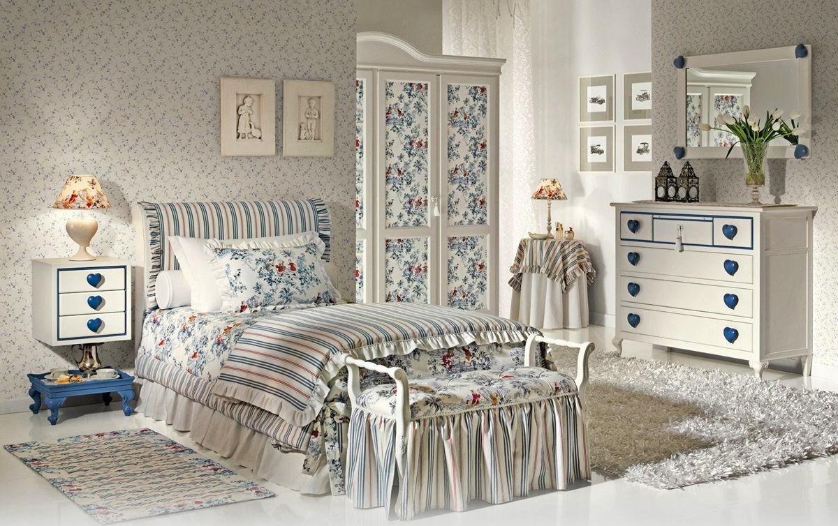 Мебель для спальни в стиле прованс (2)