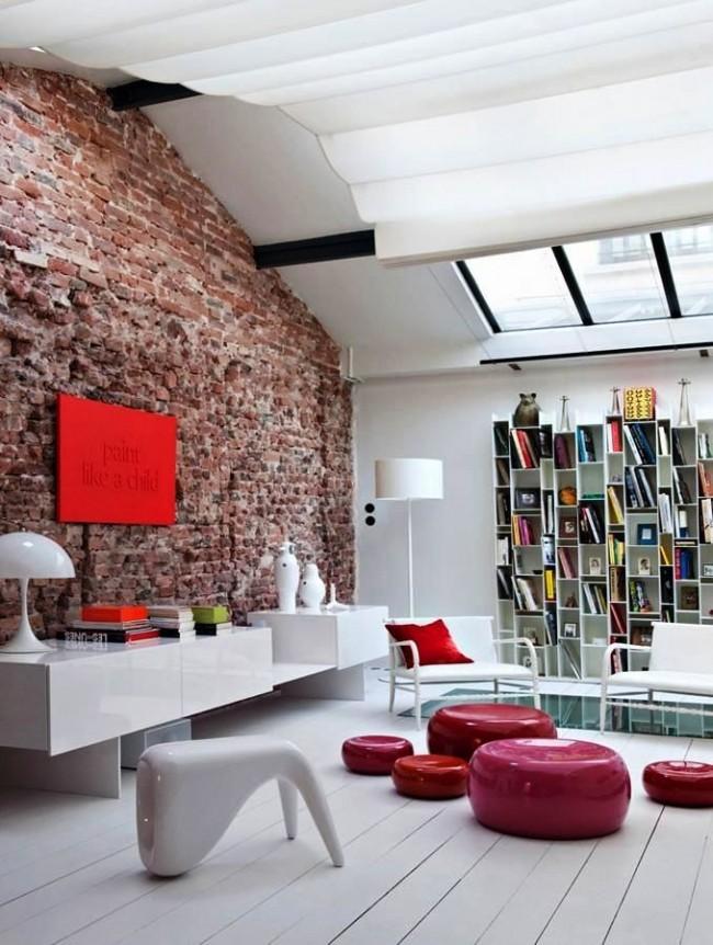 Современная яркая мебель в стиле хай-тек