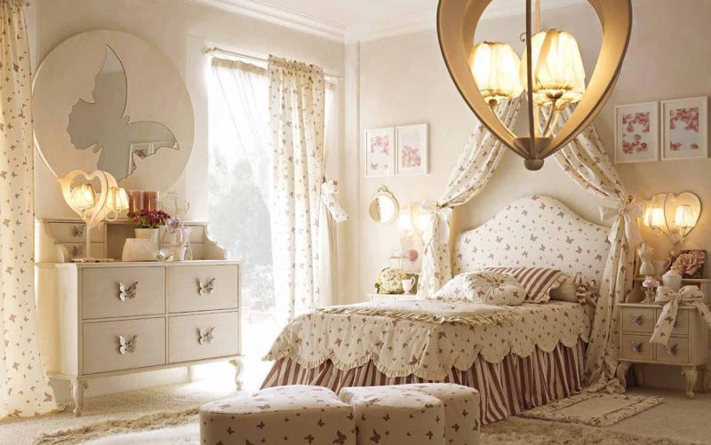 Материалы для спальни в стиле прованс 1