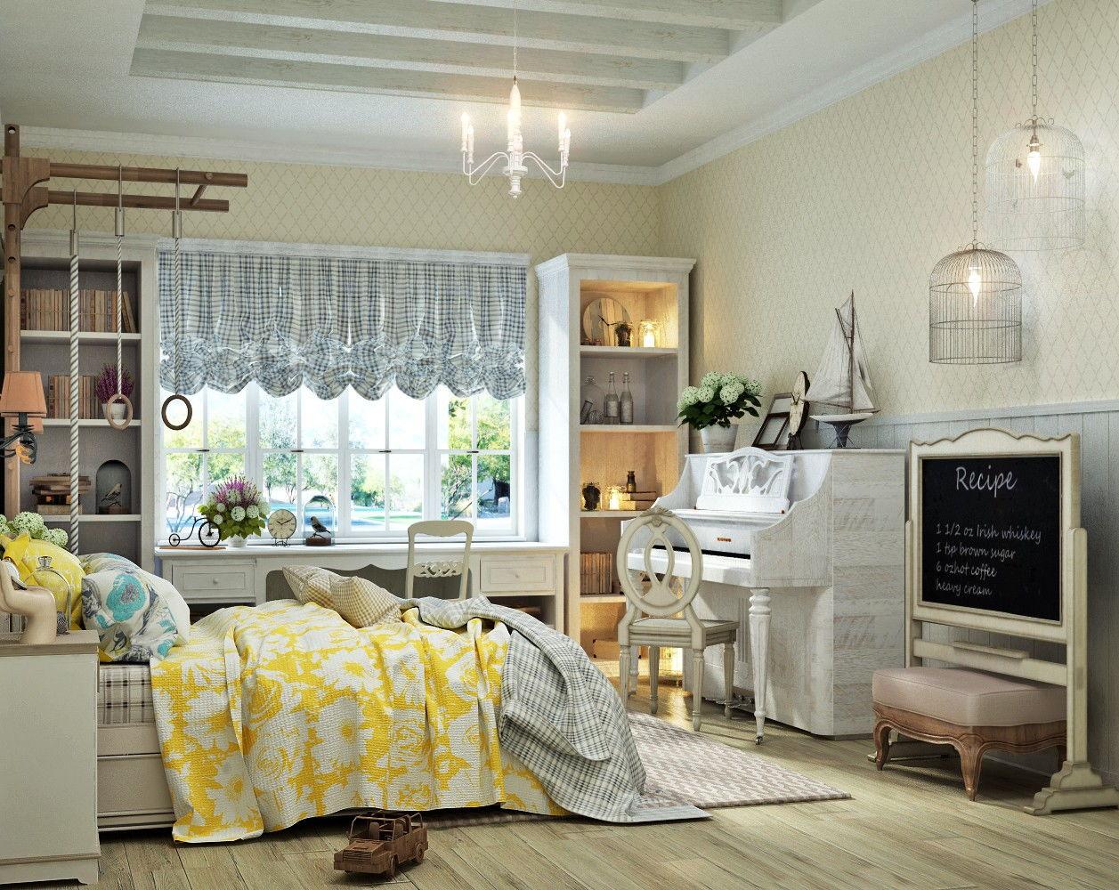 Детская спальня в стиле прованс - фото (6)