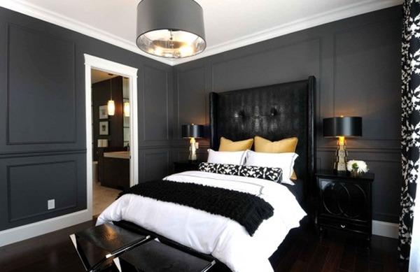 Готический стиль в спальне