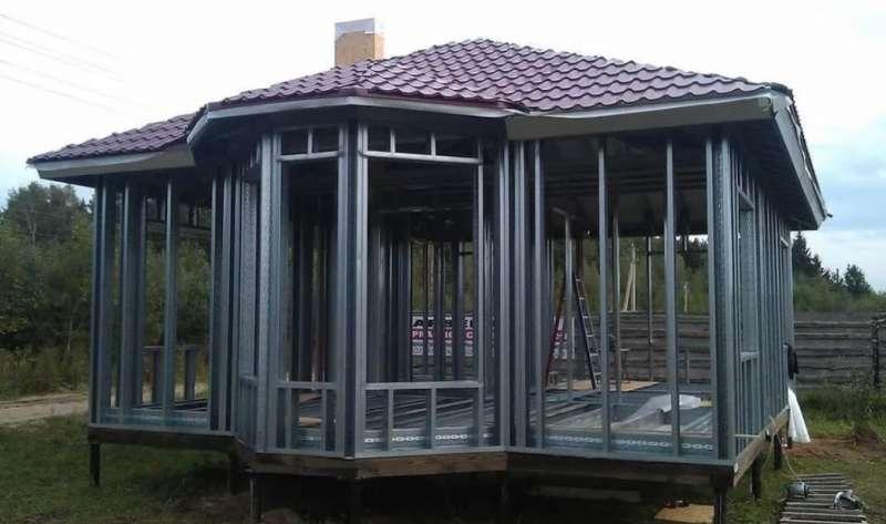 Дом из металлокаркаса: как качественно построить здание собственными руками