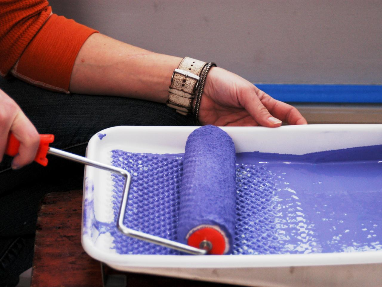 Какой валик выбрать для водоэмульсионной краски?