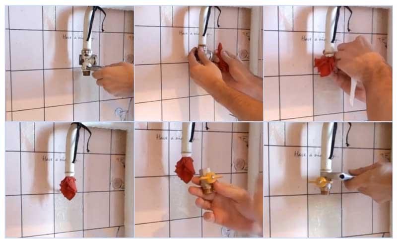 Замена газового крана для газовой плиты