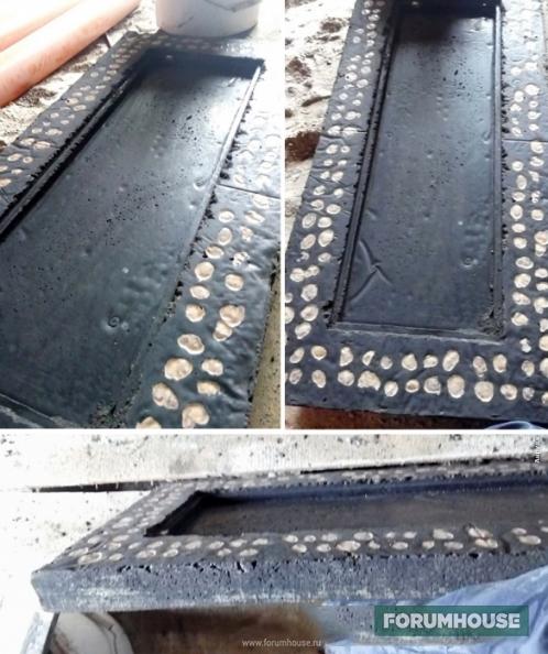 Мебель из бетона – брутальные самоделки