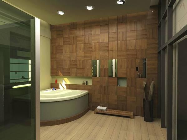 дизайн ванной комнаты в частном доме, фото 4