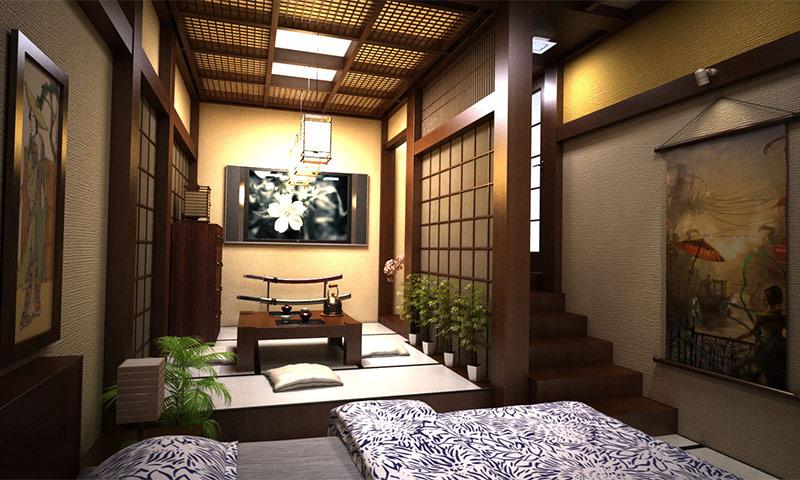 Японский стиль в интерьере - правила оформления