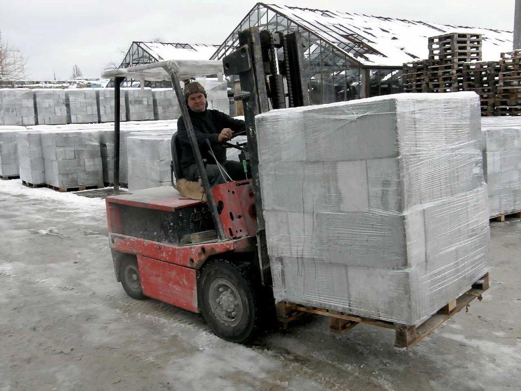 размеры блоков из пенобетона