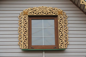 Резные наличники на окна – трафареты и узоры для резьбы лобзиком