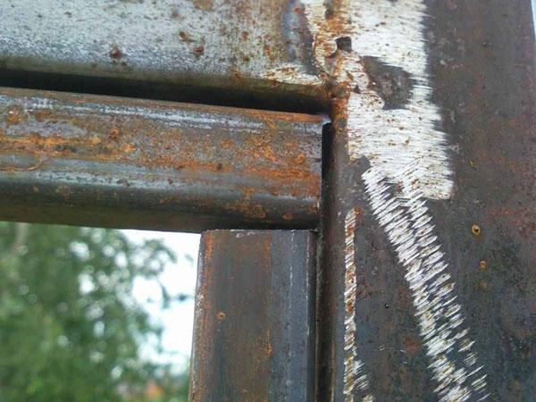 сборка дверного блока