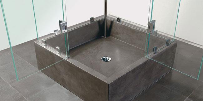 Установка душевого поддона из керамики или литого камня (пошаговая инструкция)
