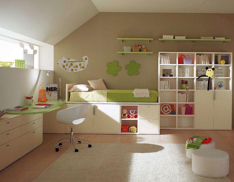 Спальня, детская, рабочий кабинет – варианты обустройства фото