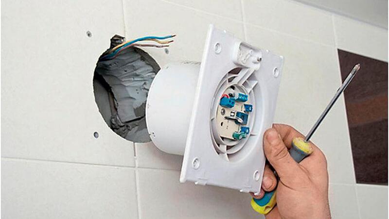 Установка вентилятора в вентиляционный канал
