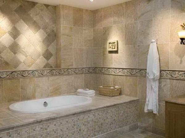 как сделать ванную комнату в частном доме, фото 14
