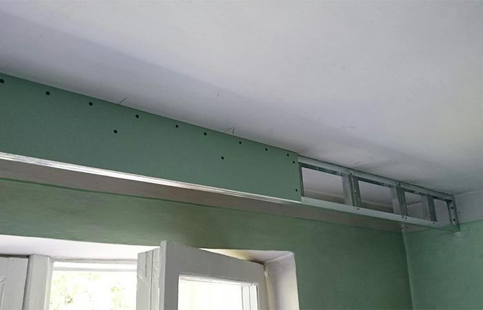 Ниша в подвесном потолке