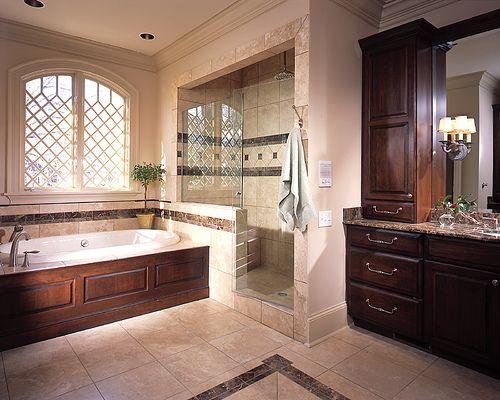 фото ванный комнат в чатном доме - вариант 1