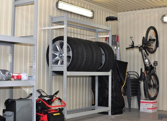 Фото №6 Металлический стеллаж – лучшее решение для гаража и подвала