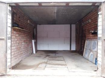 Утепление гаража пенопластом