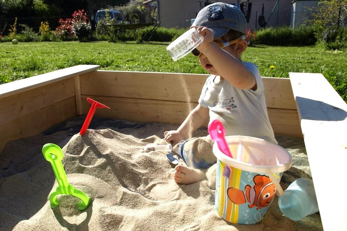 Песок для песочницы своими руками