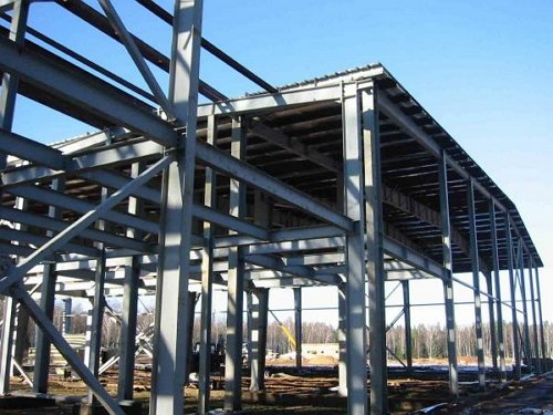 Фото несущих конструкций из металла, zmktruba.ru