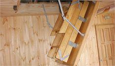 Изготовление чердачной лестницы