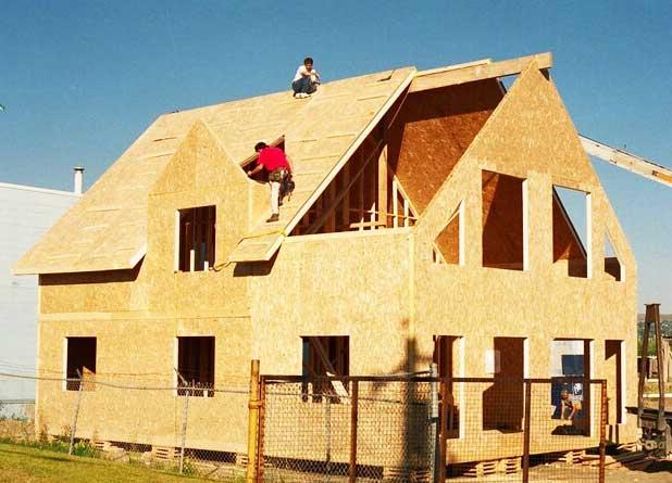 строительство крыши панельного дома